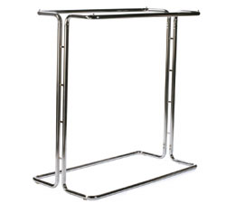 Porte v tements avec tringle double non ajustable 50 x 50 x 24 chrome 37 lbs - Tringle a vetement ...