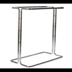 PORTE-VÊTEMENTS AVEC TRINGLE DOUBLE - NON AJUSTABLE.  50'' X 50'' X 24'' - CHROME (37 LBS)