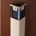 """COIN PROTECTEUR EN PVC  STANDARD  BLUNOSE 3"""" X 3"""" (76MM X 76MM)"""