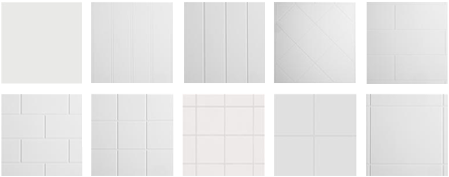 BioPrism™ Decorative Wall-Panels and Trim Patterns