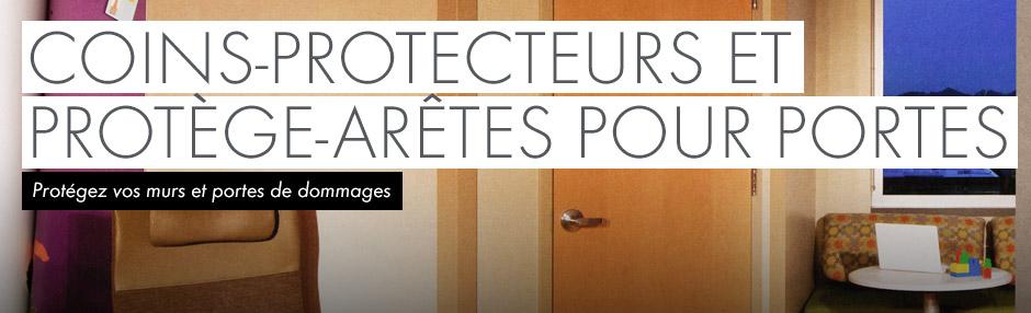 Coins-protecteurs et protège-arêtes pour portes