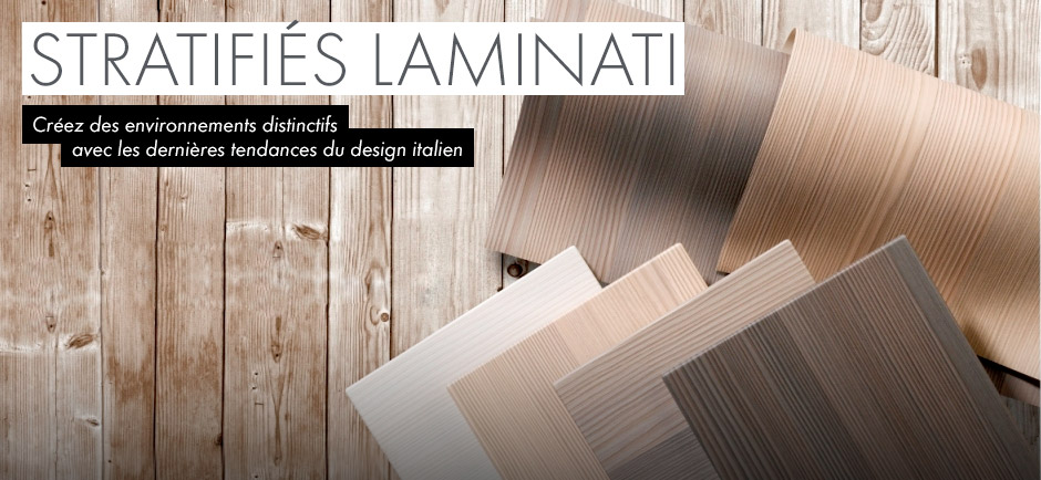 Stratifiés au finis texturés Laminati