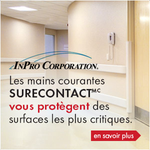 Mains courantes antimicrobiennes SureContact