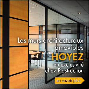 Murs architecturaux amovibles Hoyez