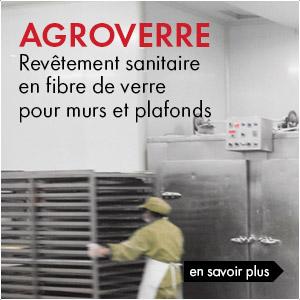 Revêtement sanitaire Agroverre