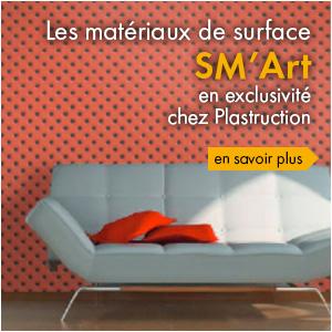 Les matériaux de surface SM'Art
